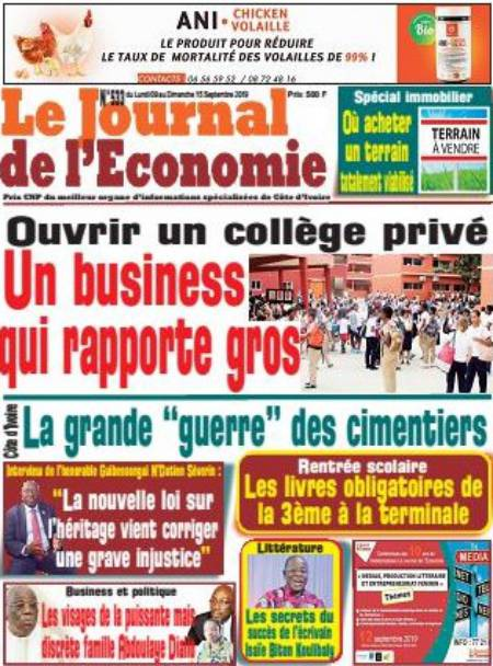 titrologie Le Journal de L'Economie